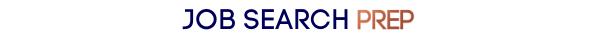 Job Search Prep Logo