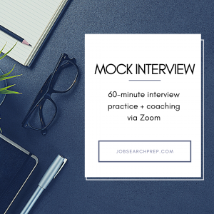 Mock Interview Practice - Job Search Prep