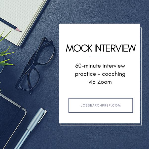Mock Interview Practice - Job Search Prep