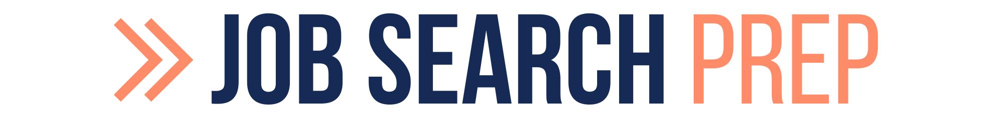 JOB SEARCH Prep Header LOGO 2021 - no tagline header - Fast Forward Your Career Success