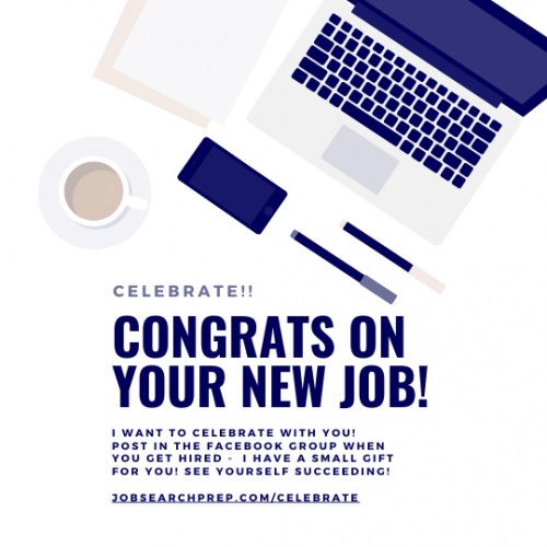 Congrats on your new job - SOCIAL MEDIA - JSP